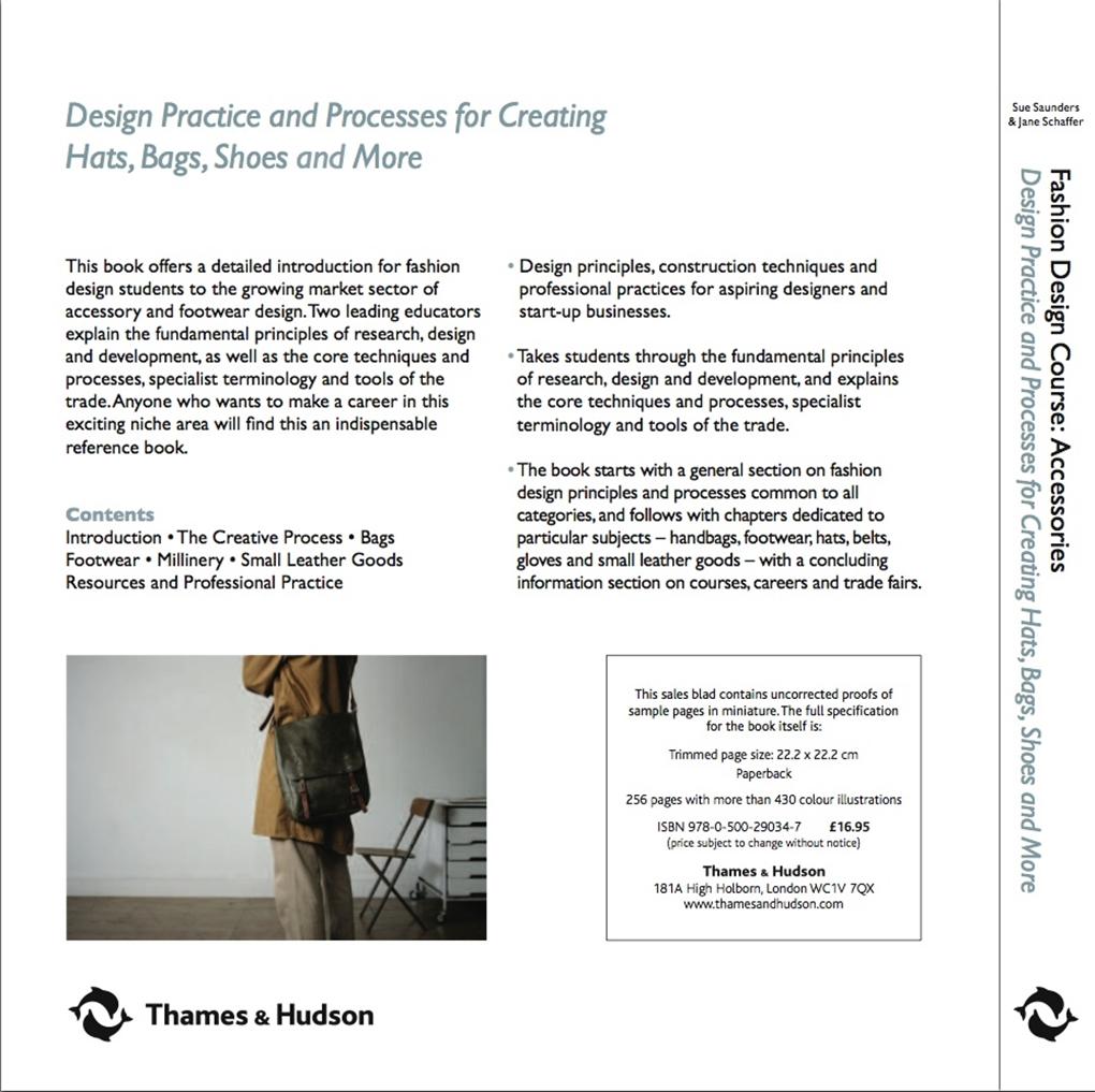 Fashion Design Course Accessories Thames Hudson Australia New Zealand