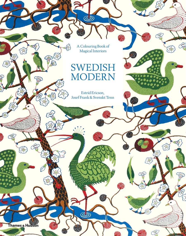Swedish Modern A Colouring Book Of Magical Interiors Thames Hudson Australia New Zealand